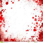 białego-tła-whit-krwi-splatters-czerwone-granicy-46888901